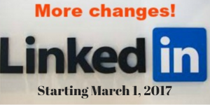 LinkedIn 2017 Changes